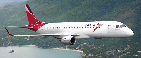 Earn miles with TACA Airlines