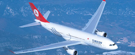Earn miles with Turkish Airlines