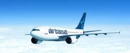 Earn miles with Air Transat