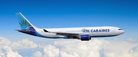 Earn miles with Air Caraibes