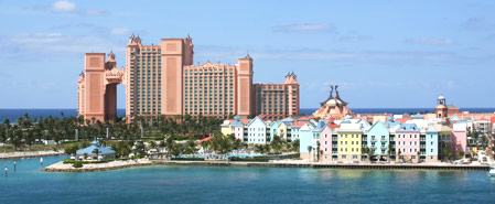 Fly with Bahamasair to Bahamas