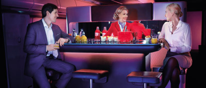 Earn miles with Virgin Atlantic Airways