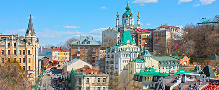 Fly with Aerosvit Airlines to Featured Destination: Kiev