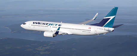 Earn miles with Westjet Airlines