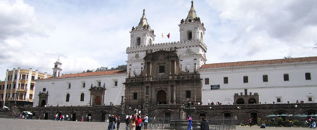 Fly with Lan Ecuador to Quito