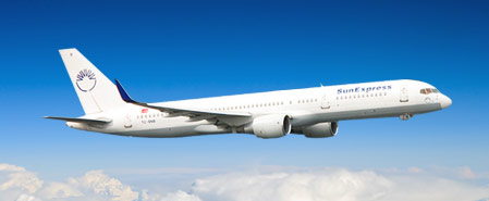Earn miles with Sunexpress Airlines