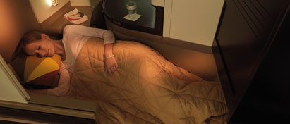Etihad Airways Cabin Comfort