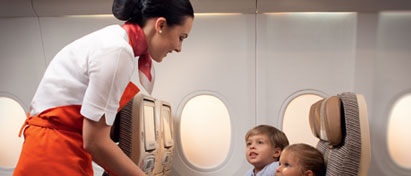 Etihad Airways A Babysitter for Families