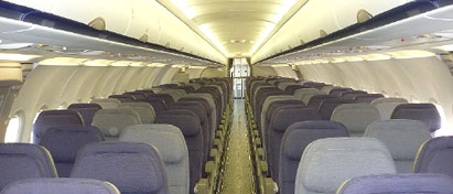 Gulf Air First A320 Cabin Retrofit Extended Range