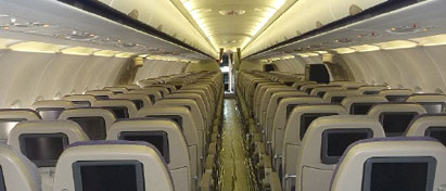 Gulf Air First A321 Cabin Retrofit Extended Range