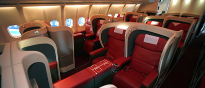 Azerbaijan Airlines Business Class