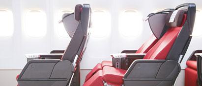 JAL Premium Economy and Economy Class