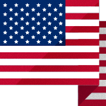 Illustration of American Flag for Memorial Day