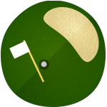 Illustration of Golf Green