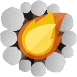 Illustration of Campfire