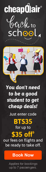 Time to get together again! Use code THANKS35 for up to $35 off our fees on your flight!