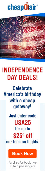 Get ahead and start planning your next Veterans Day trip! Just enter code VTRN25 for up to $25 off our fees on flights!