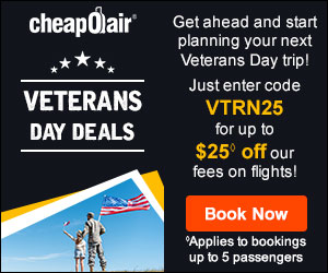 Early Fall Season Deals Save up to $30◊ off our Fees on Flights Use Coupon EFALL30