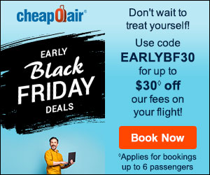 CheapOair.com Coupons & Offers