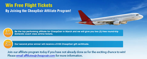 CheapOair - Travel Contests, Travel Giveaways, Travel