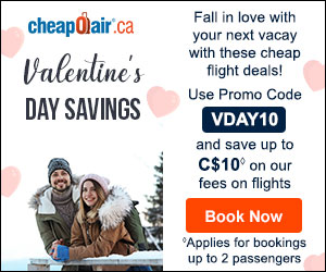 Winter Sun Holiday Deals! Get up to C$30 off◊ our fees on flights Use Code SUN30 at checkout.