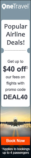 Popular Airline Deals! Save up to $40 on Popular Airlines with Code DEAL40 Book Now