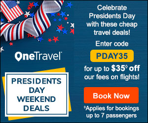 Memorial Day Travel Deals! Get up to $35 off◊ our fees on flights with promo code MEMO35