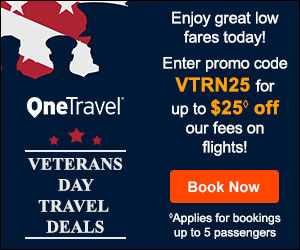 Father's Day Travel Deals! Get up to $30 off◊ our fees on flights with promo code DAD30