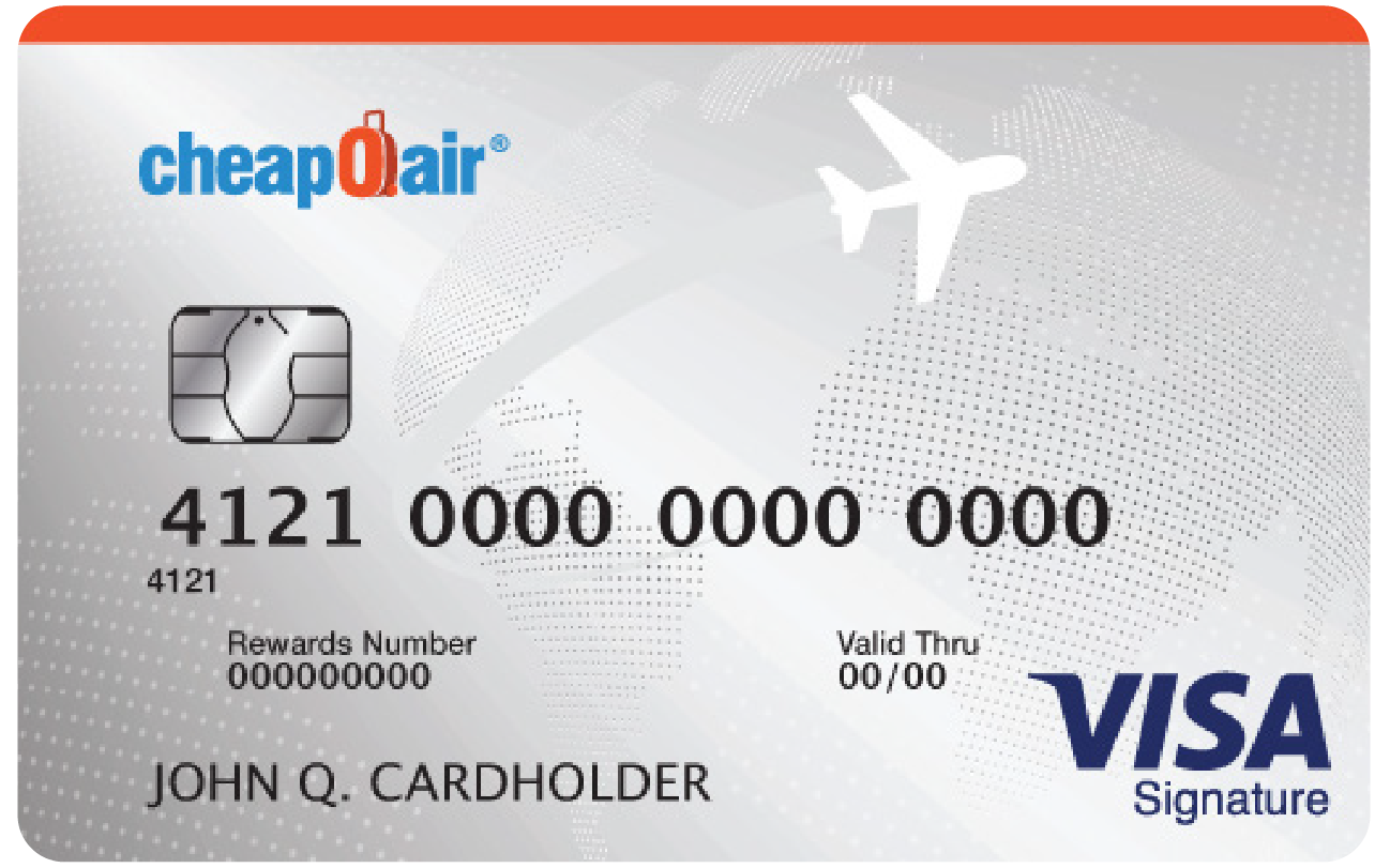 cheapOair Visa Card example image
