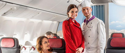 Austrian Airlines Long Haul Business Class
