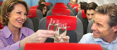 Austrian Airlines Long Haul Economy Class