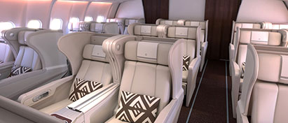 Fiji Airways Business Class