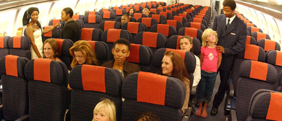 South African Airways Economy Class